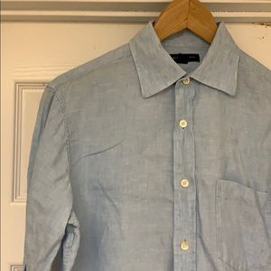 Banana Republic Linen Shirt. Size S